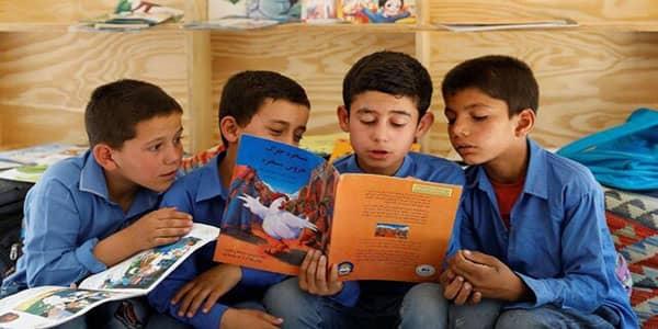 کتابخوانی-در-مدارس
